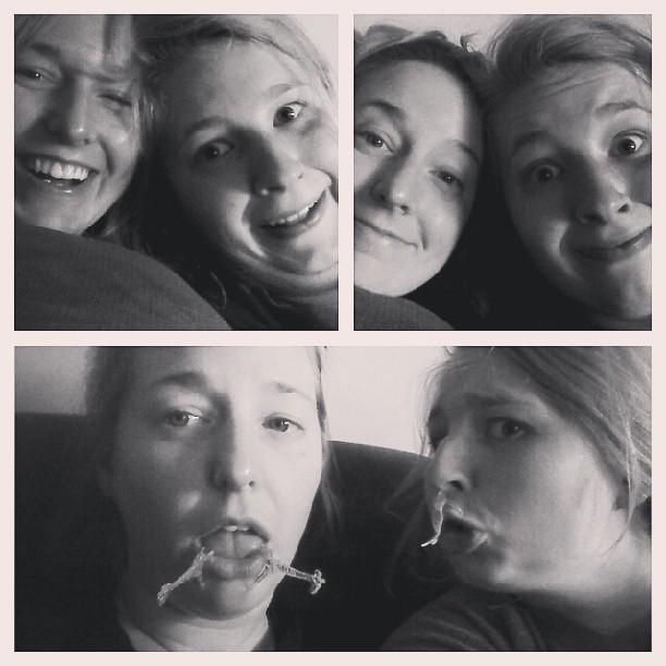 erica and i goofs