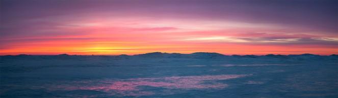 Sunrise at cana island